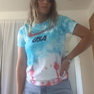 Tie Dye Nike T-shirt